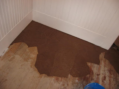 Floors Brown Paper Bag Diy Flooring Repurposing Upcycling Smoothing On The Wet