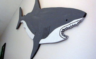 bedroom ideas shark room boys shark week, bedroom ideas, painted furniture, wall decor, woodworking projects