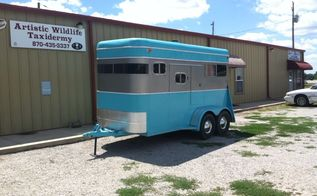 horse trailer make over, diy, repurposing upcycling