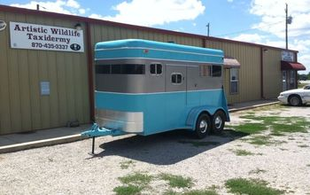 Horse Trailer Make Over