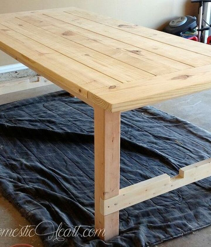 100 farmhouse dining table doable diy, dining room ideas, diy, woodworking projects