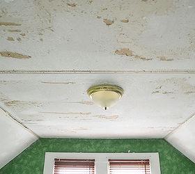 Delightful Drywall Damage After Removing Popcorn Ceiling
