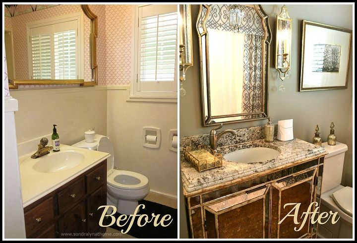 pictures of small bathroom remodels. Small Bath Remodels Elegant Glamour  Bathroom Ideas Small Bathroom Glam Redo Hometalk
