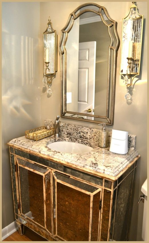 Small Bathroom Glam Redo | Hometalk