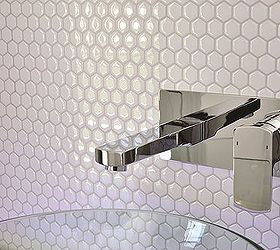 tiling cheat amazing tiling effects using self adhesive wall tiles kitchen backsplash kitchen design peel and stick backsplash   mosaic metallic   glass tile      rh   hometalk com