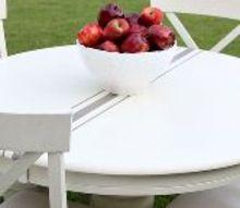 painted furniture kitchen tablegrain sack inspired, kitchen design, painted furniture