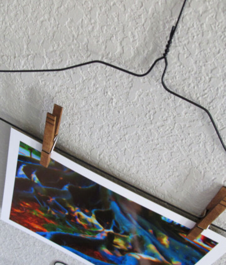 diy hanger art display, home decor, wall decor