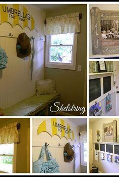 foyer makeover redo old home, foyer