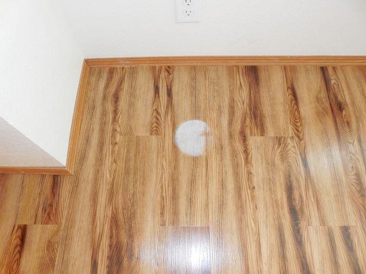 vinyl floor planking white spot help strain, cleaning tips, flooring, home maintenance repairs