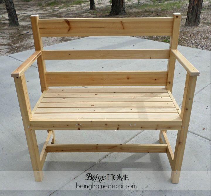 Bench completly built.