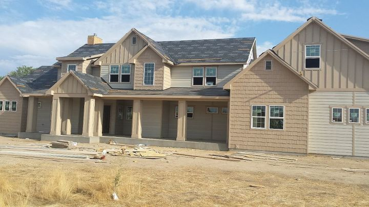 q paint colors exterior house suggestions, paint colors, painting, The front of the house