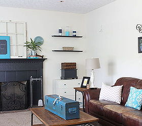 Family Room Ideas Decor Budget Blues Vintage, Home Decor, Living Room  Ideas, ...