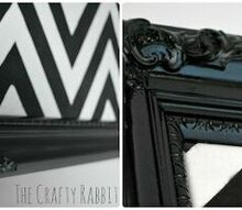 diy picture frame makeover refinish, painted furniture
