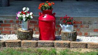 coastal vintage, flowers, gardening, home decor, perennial