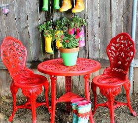 Outdoor Furniture Rustoleum Spray Paint Bistro Set Red, Outdoor Furniture,  Outdoor Living, Paint