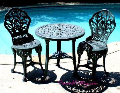 Outdoor Furniture Rustoleum Spray Paint Bistro Set Red Living