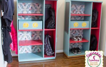 Furniture Update: Creating After School Storage