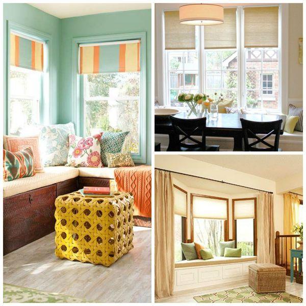 Windows Seats Whimsical Home Decor Window Treatments Roller Shades