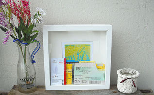 diy memory box ikea tutorial, crafts, how to