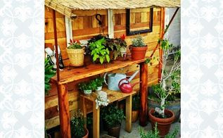 diy shed container garden, container gardening, diy, gardening, outdoor living, woodworking projects