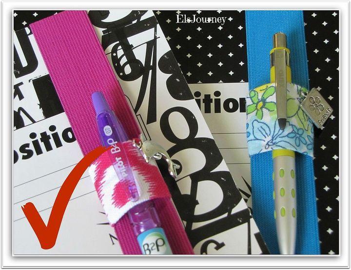 diy notebook closure back to school, crafts