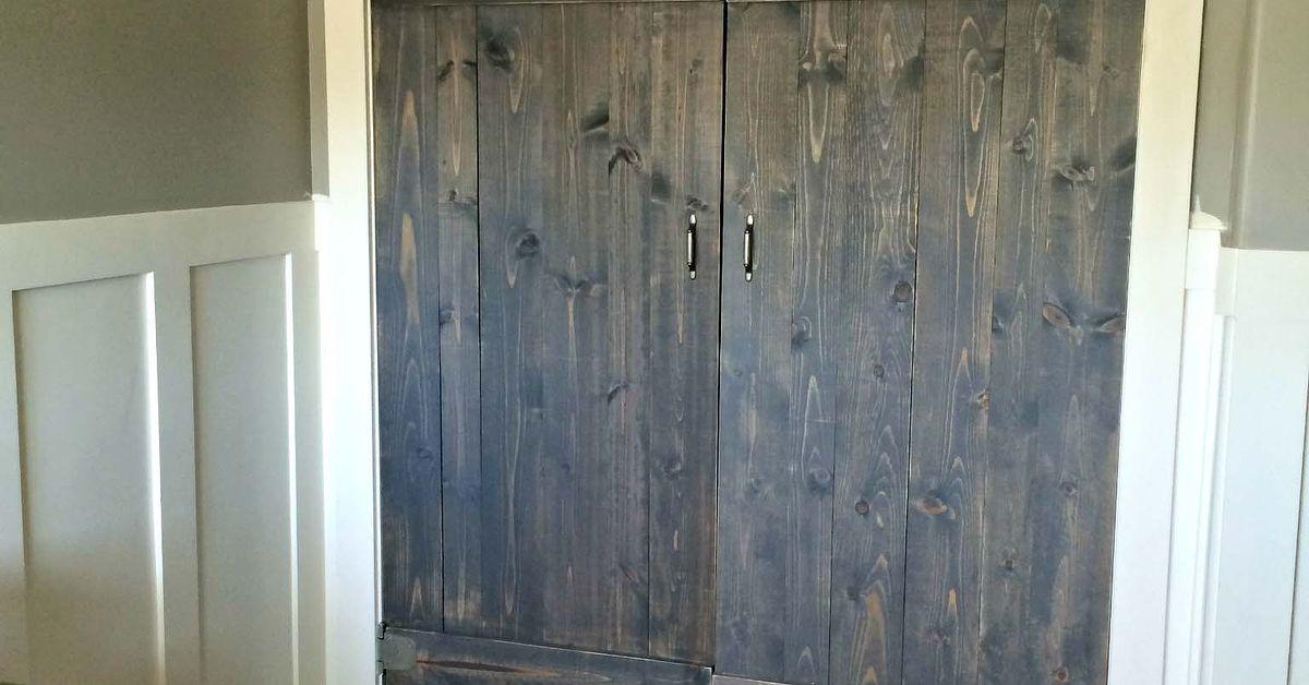 Barn Wood Closet Doors | Hometalk