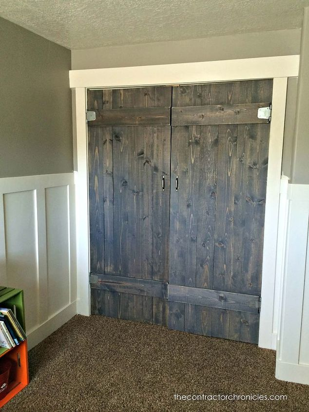 Fantastic Barn Wood Closet Doors Hometalk Io95