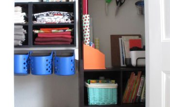 A Craft Closet for ZERO Dollars!