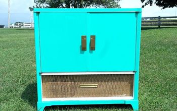 Radio Cabinet to Martini Bar DIY