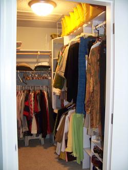 Walk in Closet Organization   Hometalk
