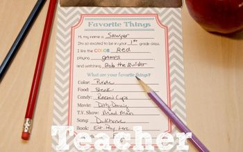 crafts printable back to school teacher interview, organizing