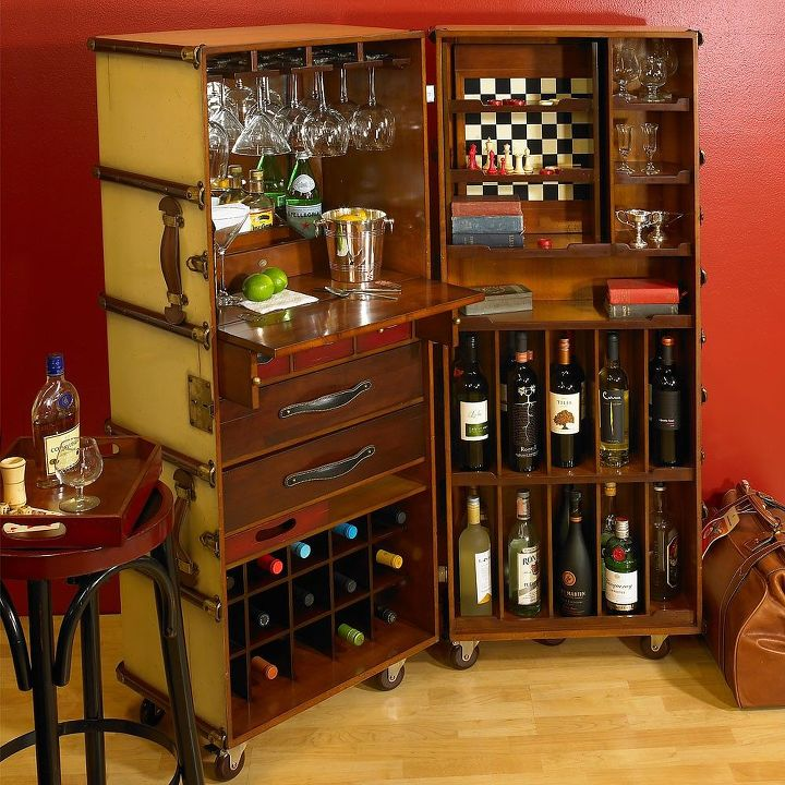 Campaign Furniture Home Bar Hometalk