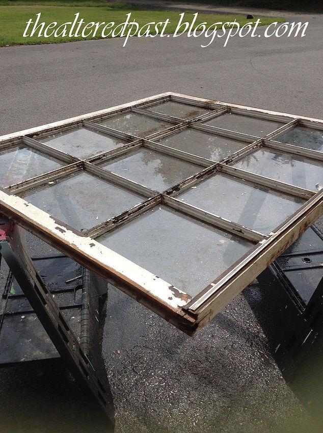 Old Window Frame Repurposed Into Chalkboard Calendar | Hometalk