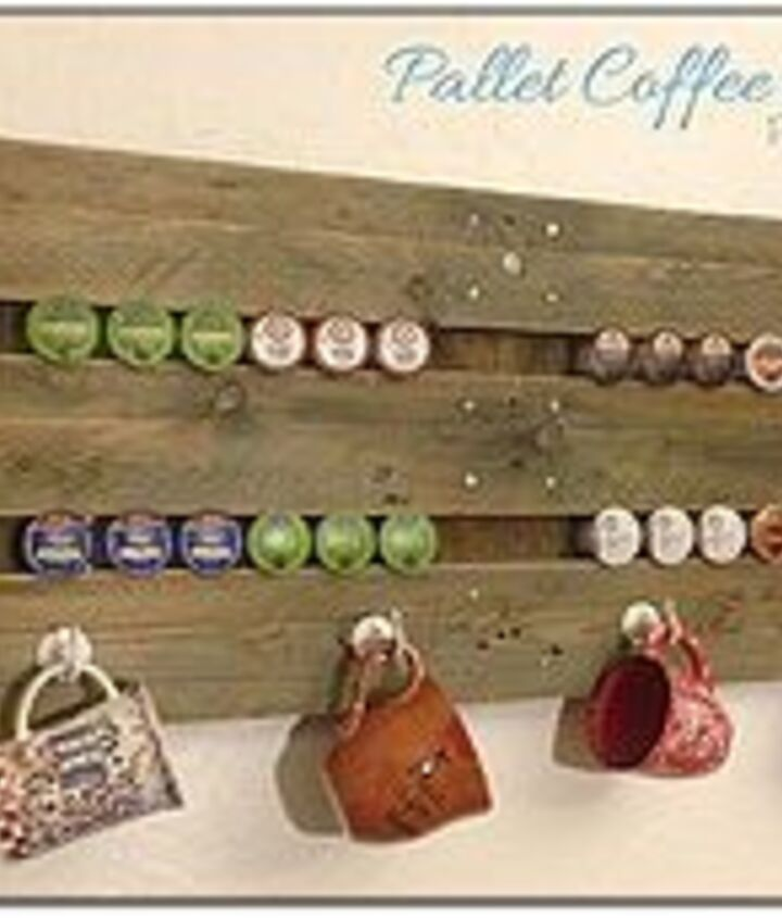 fabulously free coffee station, pallet
