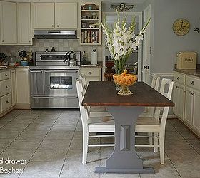 Kitchen Ideas Farmhouse Table Staining Wood, Kitchen Design, Painted  Furniture, Repurposing Upcycling