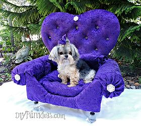 How To Make A Princess Dog Bed From An Old Drawer, Diy, Home Decor