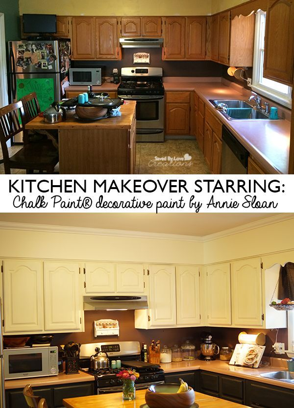 Kitchen Cabinetry With Chalk Paint® Decorative Paint by ...
