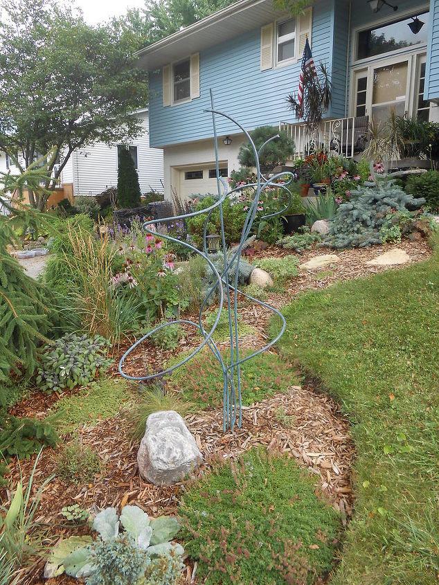 DIY Copper Garden Art From Copper Tubing | Hometalk