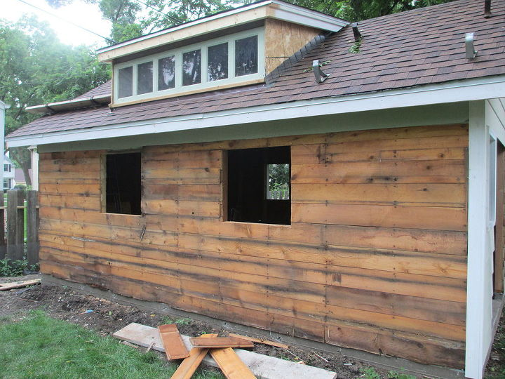 transformed backyard workshop, diy, outdoor living, woodworking projects
