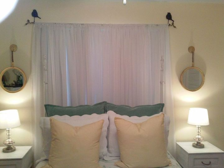 a guest room fit for company, bedroom ideas, home decor, paint colors, painting, reupholster