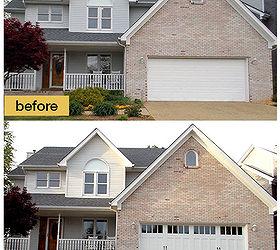 Garage Door Makeovers Before And After Photos, Curb Appeal, Garage Doors,  Garages