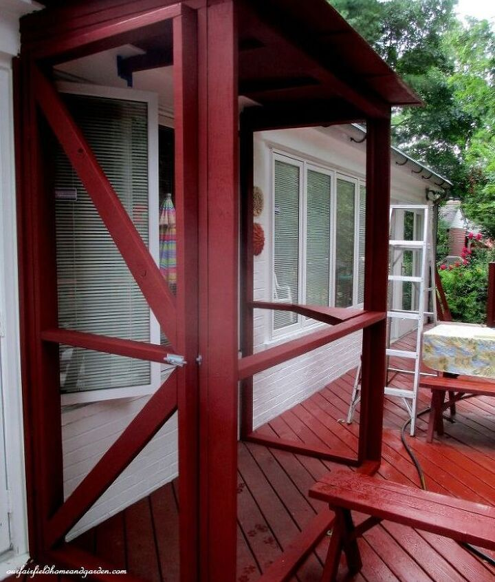 Painted Catio frame.