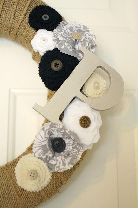 cheap and easy diy burlap wreath, crafts, wreaths