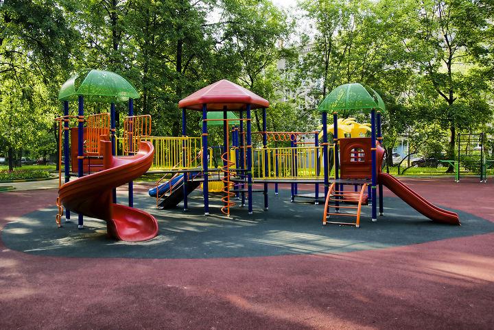 Types Of Backyard Playground Flooring Hometalk