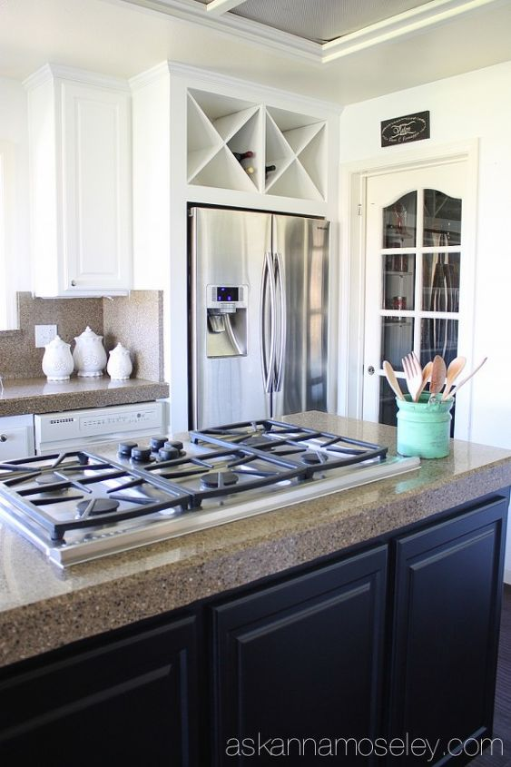 Black And White Kitchen Makeover Reveal Hometalk