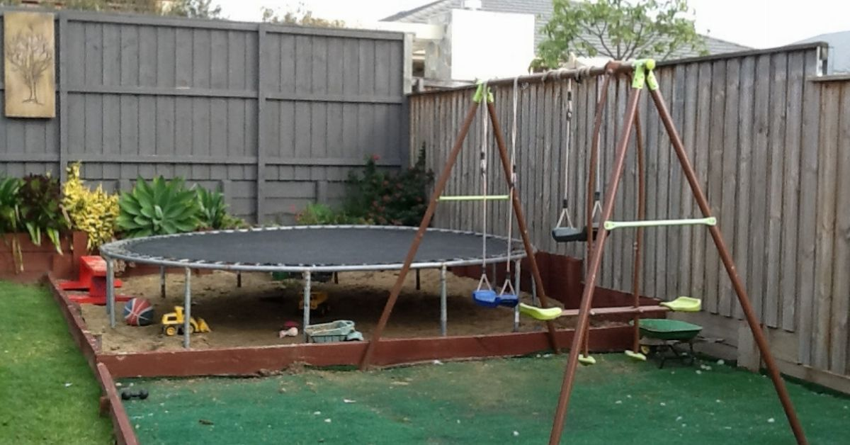 What To Use As Trampoline Base Hometalk