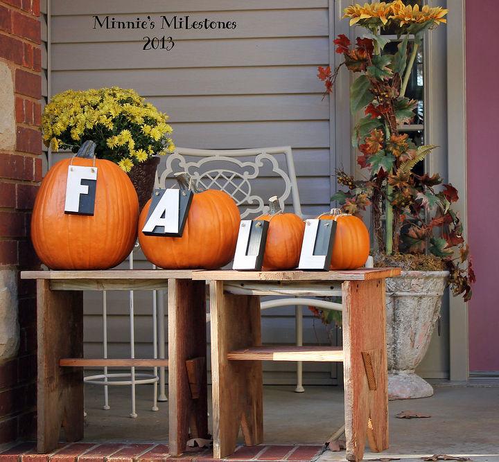 Fall Outdoor Decor Decorations Living Seasonal Holiday