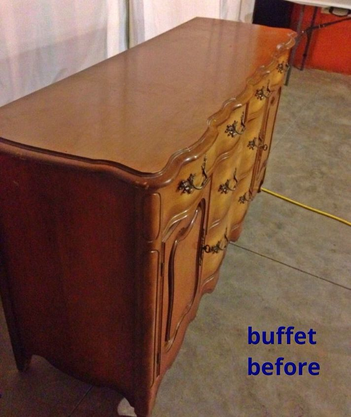 bathroom ideas vanity buffet repurpose granite, bathroom ideas, diy, painted furniture, repurposing upcycling