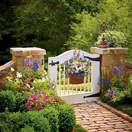 Beautiful Garden Gate Designs | Hometalk