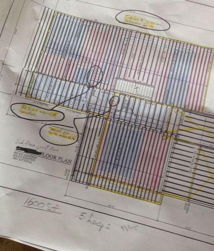 home renovation radiant heating, hvac